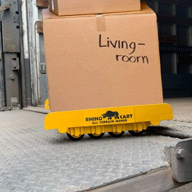 Rhino Cart - All Terrain Moving Dolly for Heavy Appliance and Material Handling