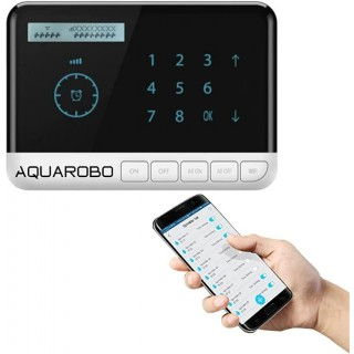 AQUAROBO Automatic Irrigation Controllers,Watering Timers,Smart Sprinkler Controller 8-Zone WiFi Timing Irrigation System with 8 Valves, Suitable for  Echo, Dot, Tap or Alexa