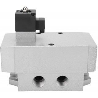 G3/4in Solenoid Valve K25DH20 2 Position 5 Way Solenoid Valve Single Electric Control Industrial Machinery Equipment(AC220V)