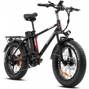 SAMEBIKE XWC05 750W Electric Bikes for Adults Up to 65 Miles EBike 4.0