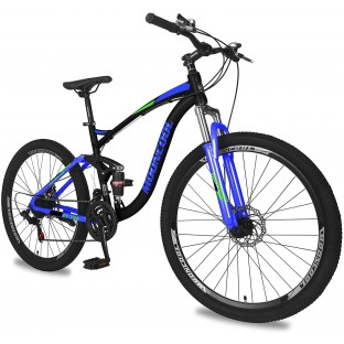 """ABORON Adult Mountain Bike, 7-21 Speeds, 20""""-27.5"""", Unisex MTB for Adult/Youth, Multiple Configurations/Choices/Colors"""