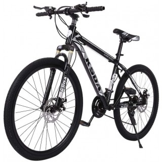 26 inch 21 Speed Folding Mountain Bike High Carbon Steel, Full Suspension MTB Bicycle for Adult, Double Disc Brake Outroad Mountain Bicycle for Men Women,Fast Delivery [ USA in Stock ]