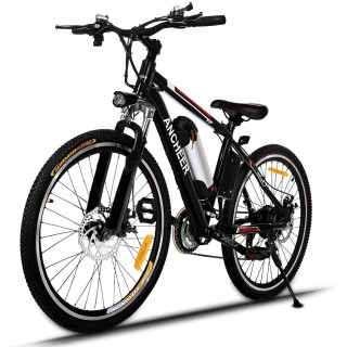 26 inch Electric Bike for Adults, Commuting Ebike with 8ah/12.5ah Battery, 250W/500W Motor Electric Mountain Bike, and Professional 21 Speed Gears (Classic)