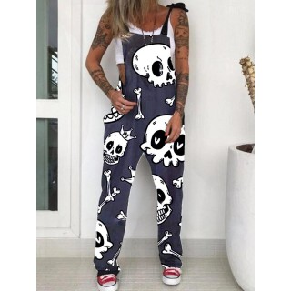 Punk casual printed over s